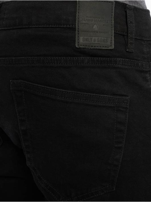 Only & Sons Jean slim Onsloom Black Dcc 0448 Noos noir