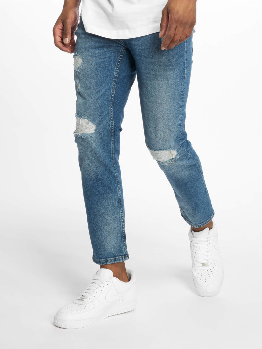 Only & Sons Jeans straight fit onsWeft Crop Washed blu