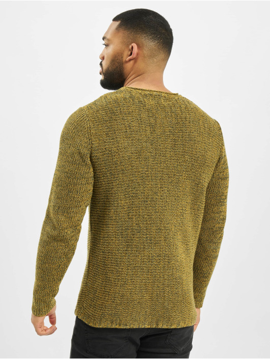 Only & Sons Jersey onsSato 5 Multi CLR Knit Noos amarillo