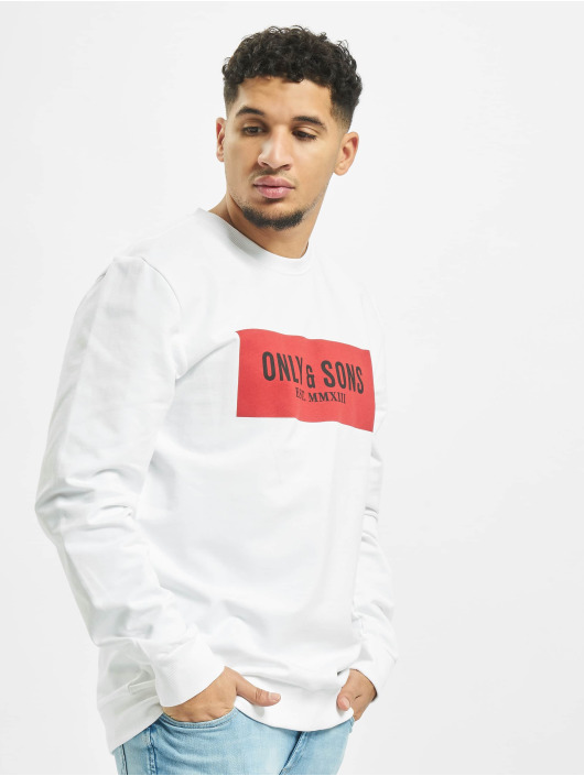 Only & Sons Jersey onsNormie blanco