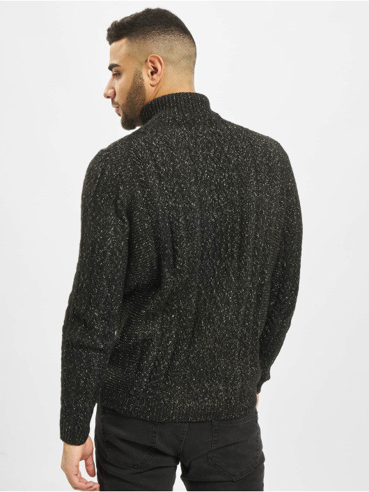 Only & Sons Jumper onsPhil 7 Zipper Knit black