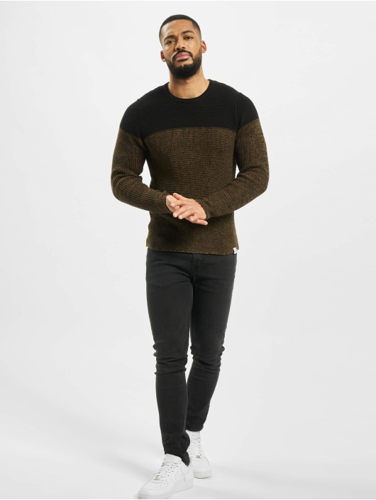 Only & Sons Jumper onsSato 5 Colorblock Knit Noos black