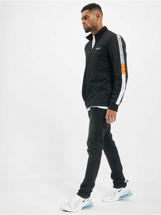 Only & Sons Jumper onsVP Tracker Poly High Neck Zip black