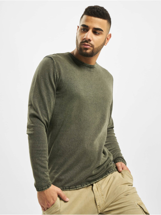 Only & Sons Jumper onsGarson 12 Wash Knit Noos green
