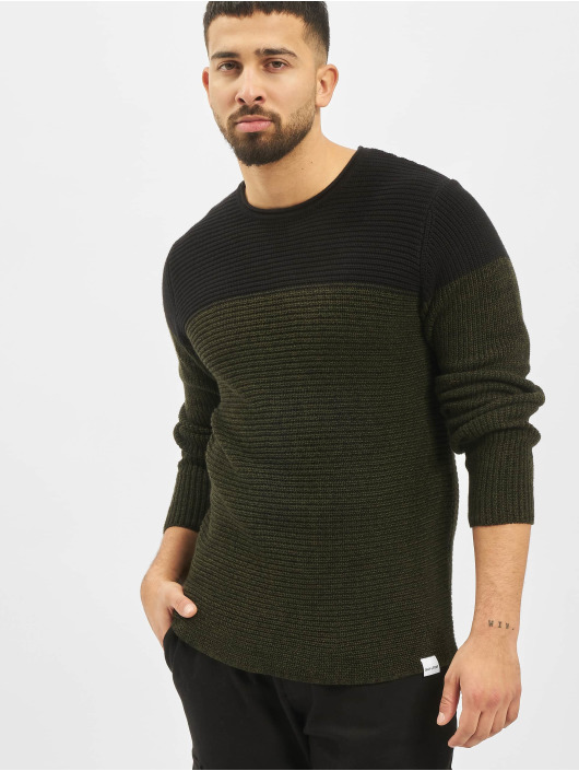Only & Sons Jumper onsSato 5 Colorblock Knit Noos green