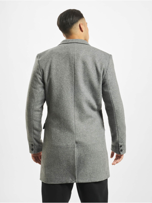 Only & Sons Kabáty onsJulian Solid Wool šedá