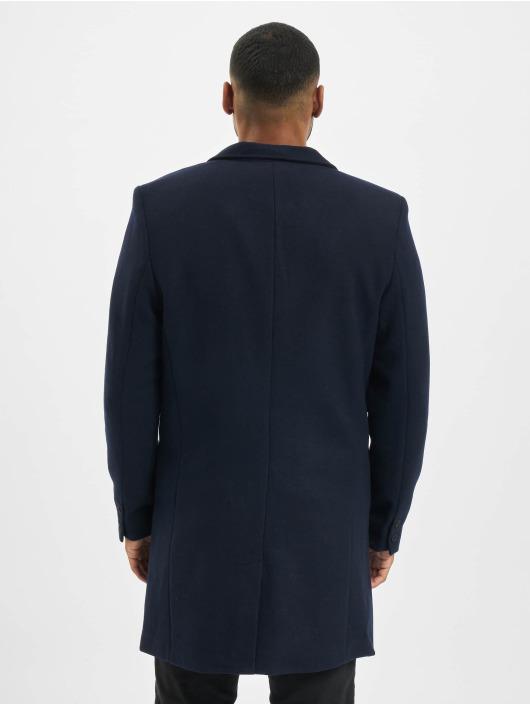 Only & Sons Kabáty Onsjulian Solid Wool Coat Otw Noos modrá