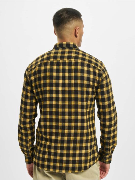 Only & Sons Košele onsEmil Flannel Check žltá