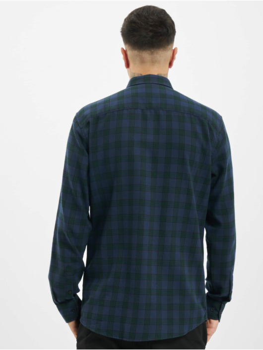 Only & Sons Košele onsEmil Flannel Check zelená