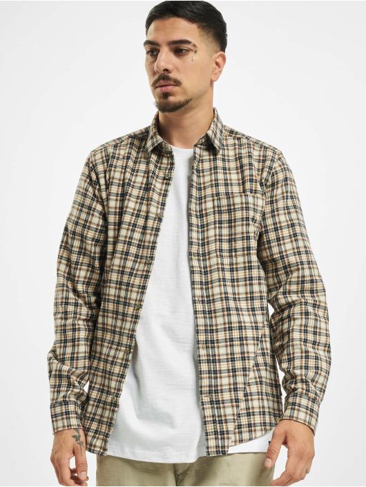 Only & Sons Koszule onsEbert Flannel Check brazowy