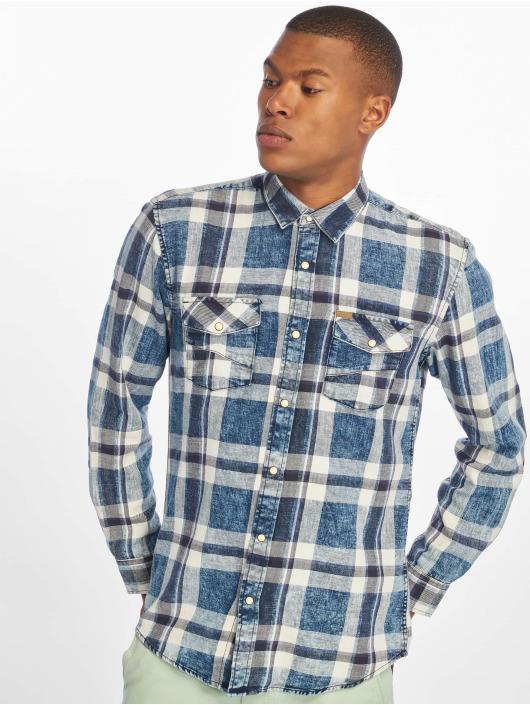 Only & Sons Koszule onsSpruce Washed Indigo Check niebieski