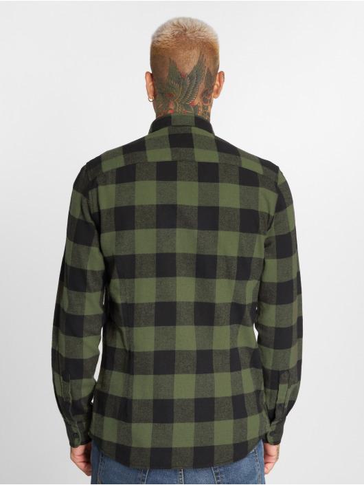 Only & Sons Koszule onsGudmund Checked oliwkowy
