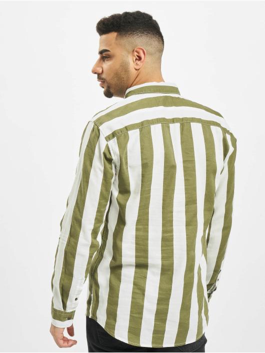 Only & Sons Koszule onsArif Ls Bold Strip zielony