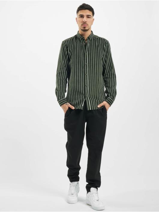 Only & Sons Koszule onsEdward Striped Corduroy zielony