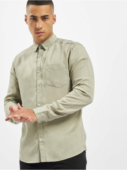 Only & Sons Koszule onsAtlas Life Dyed Tencel zielony