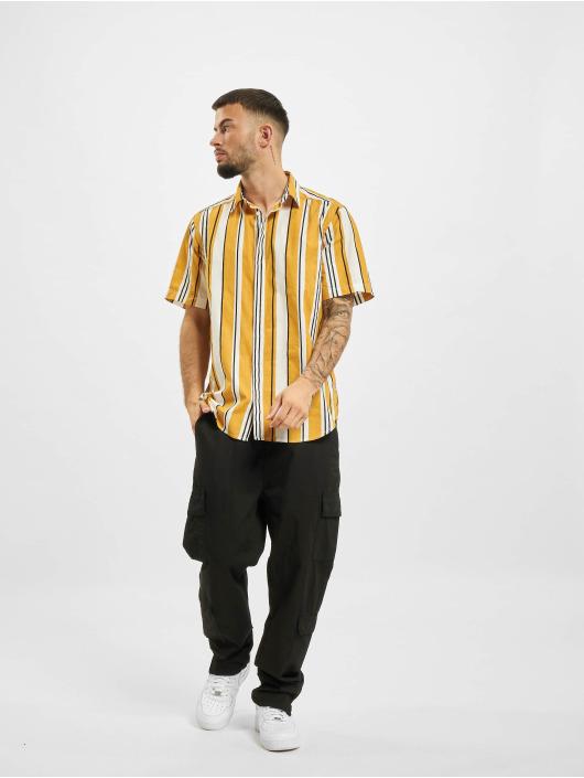 Only & Sons Koszule Ons Ketan Life Slub Stripe zólty