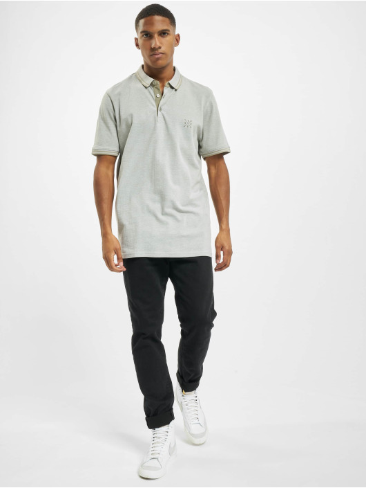 Only & Sons Koszulki Polo onsStan Life Fitted Noos szary