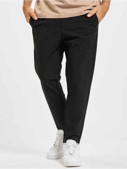 Only & Sons Látkové kalhoty Onslinus Cropped čern