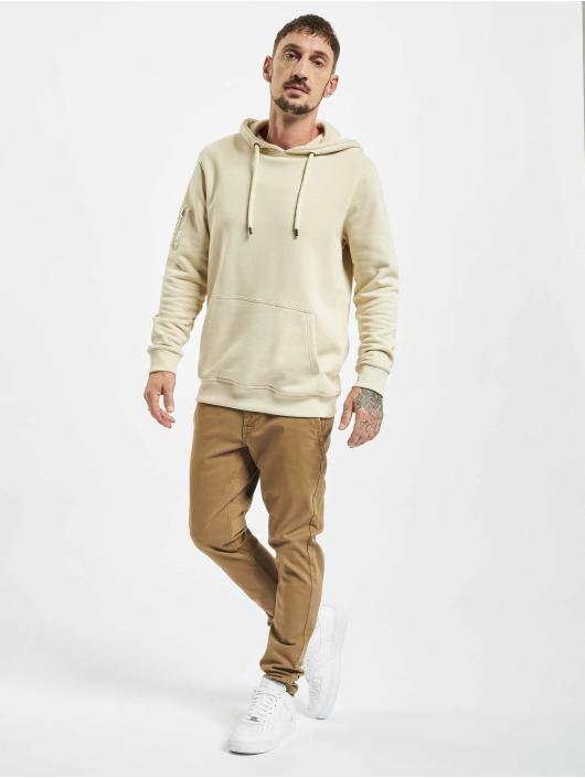 Only & Sons Látkové kalhoty onsTarp Washed Noos hnědý