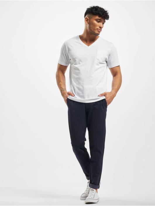 Only & Sons Látkové kalhoty onsMark Stripe Noos modrý