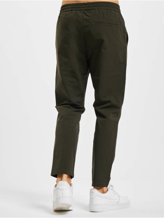 Only & Sons Látkové kalhoty Onslinus Cropped zelený