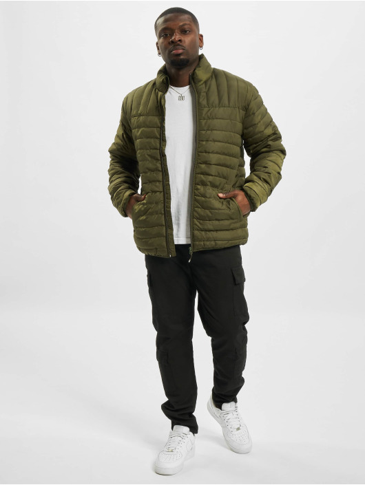 Only & Sons Lightweight Jacket onsPaul Quilted Highneck olive