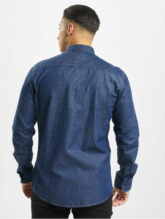 Only & Sons Longsleeve Onsbasic Denim blau