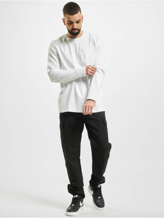 Only & Sons Longsleeve onsMakhi Life Reg Pocket weiß