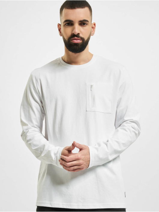 Only & Sons Longsleeve onsMakhi Life Reg Pocket white