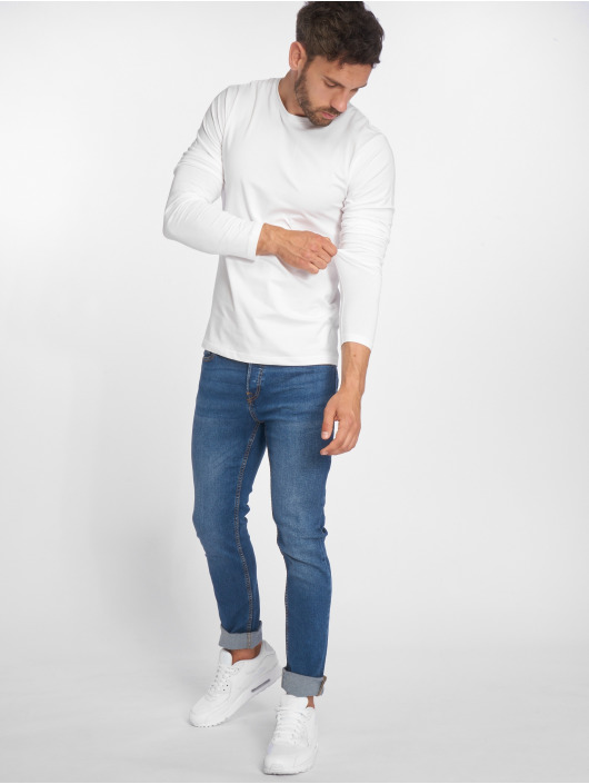 Only & Sons Longsleeves onsBasic Slim bialy