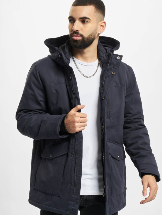 Only & Sons Manteau hiver Onselliot bleu