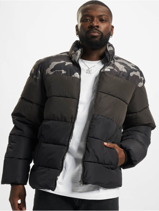 Only & Sons Manteau hiver Onsmelvin Quilted gris