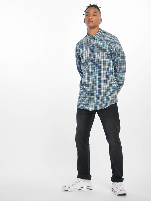 Only & Sons overhemd onsStone Checked Indigo blauw