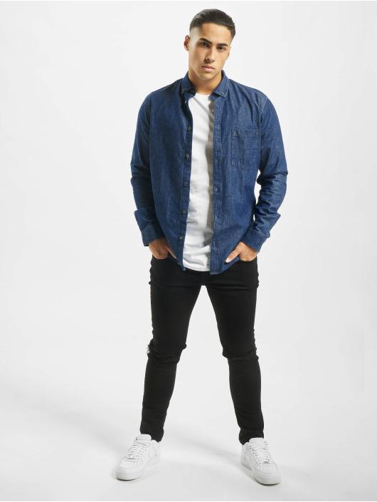 Only & Sons overhemd Onsbasic Denim blauw