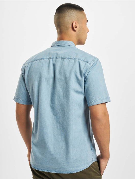 Only & Sons overhemd onsAugust Chambray blauw