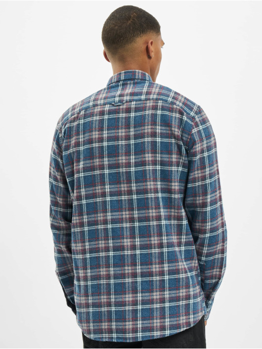 Only & Sons overhemd onsBobby Washed Yd Check blauw