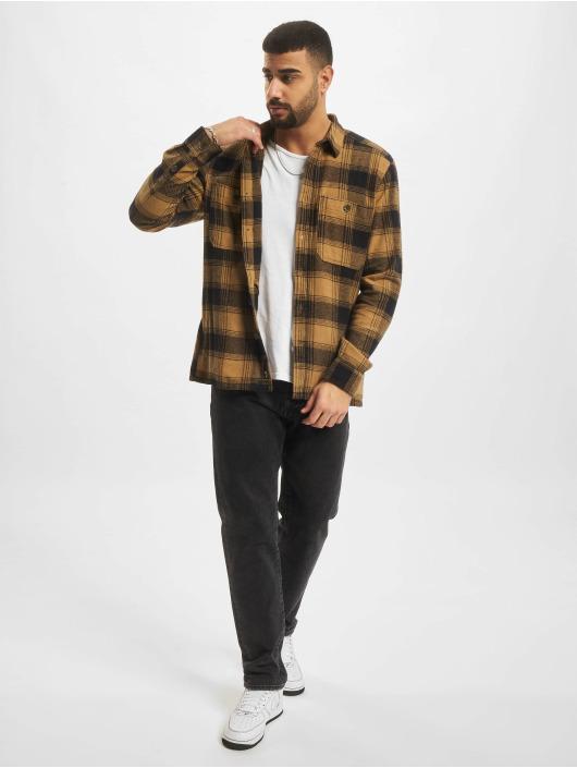 Only & Sons overhemd Onsnadal bruin