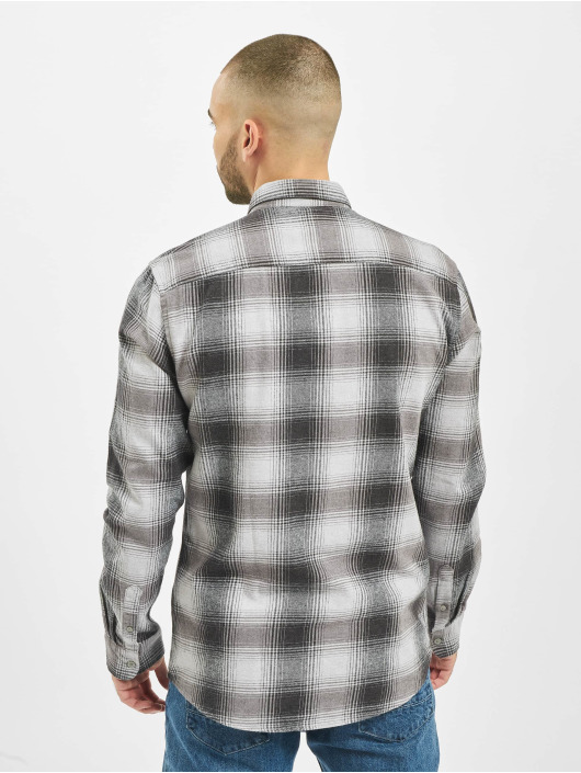 Only & Sons overhemd Onsflannel grijs