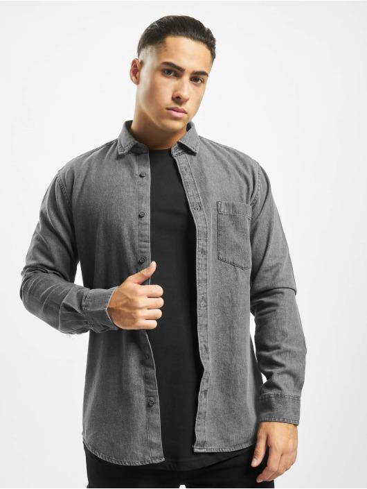 Only & Sons overhemd Onsbasic Denim grijs