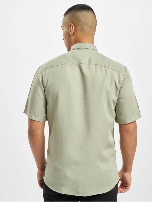 Only & Sons overhemd onsAtlas Life Dyed Tencel groen