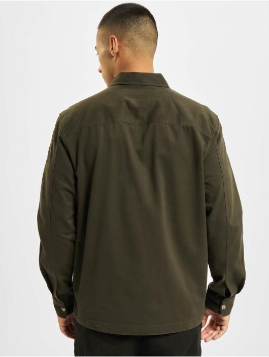 Only & Sons overhemd Onsilvio Life Twill olijfgroen