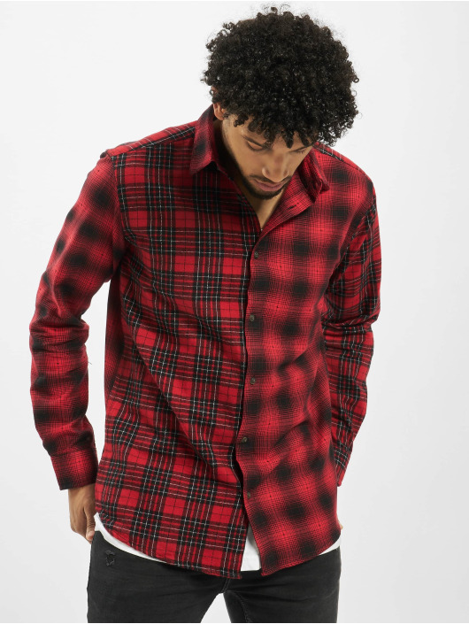 Only & Sons overhemd onsOzean Mixed Checked Regular rood