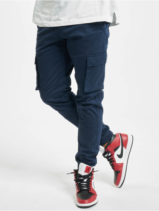 Only & Sons Pantalon cargo onsCam Stage Cuff bleu