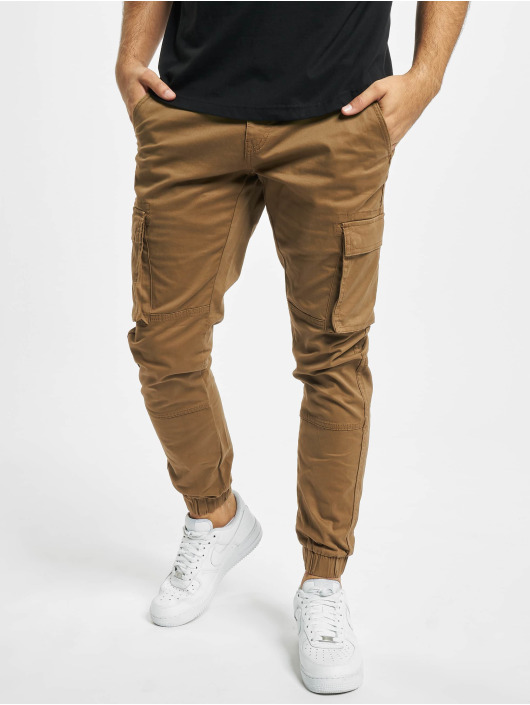Only & Sons Pantalon cargo onsCam Stage Cuff brun