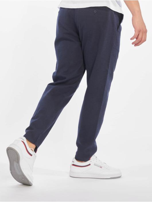 Only & Sons Pantalon chino onsLeo Linen Mix Noos bleu