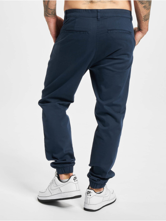 Only & Sons Pantalon chino Onscam Aged Cuff PG 9626 bleu