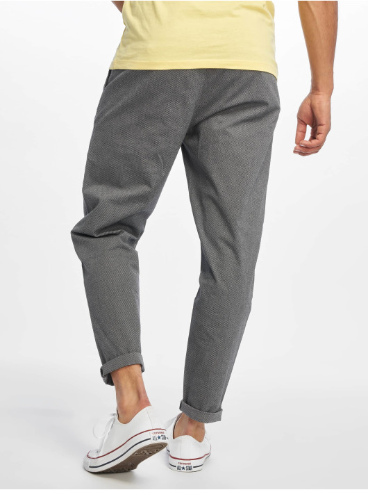 Only & Sons Pantalon chino onsLeo Cropped gris