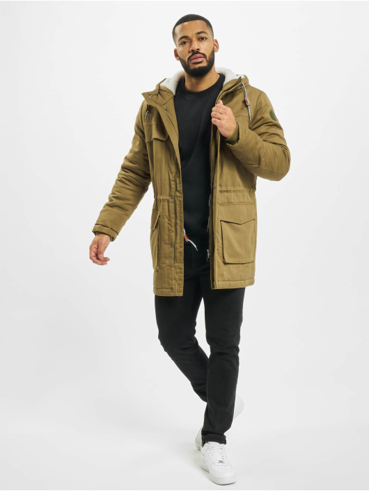 Only & Sons Parka onsWard Life Cotton brazowy