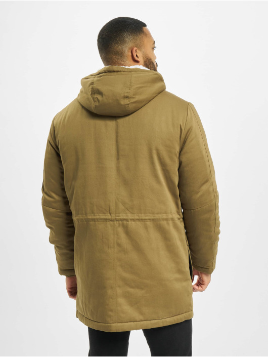 Only & Sons Parka onsWard Life Cotton hnedá