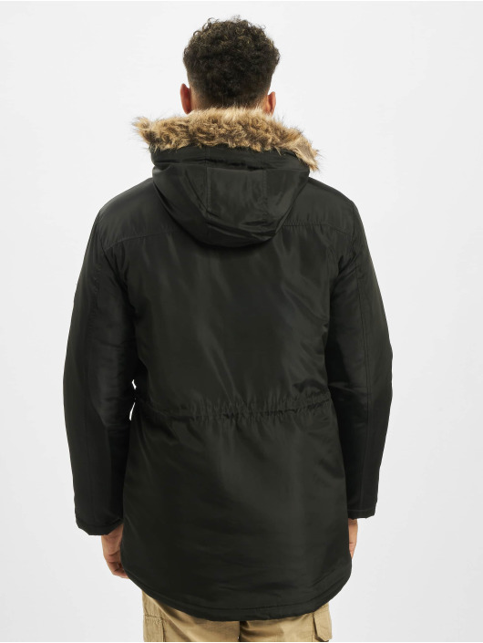 Only & Sons Parka Onseric negro